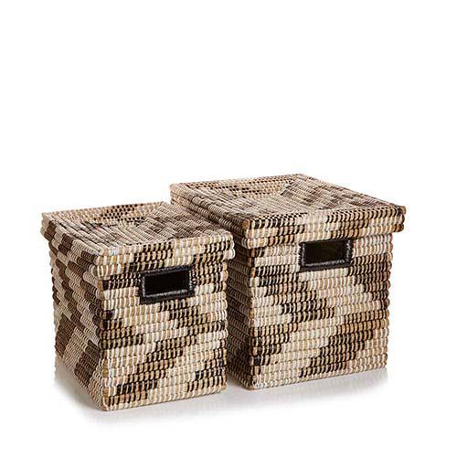 Zigzag Nesting Baskets