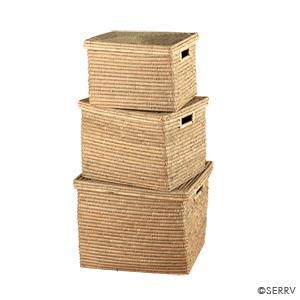 Nesting Kaisa Grass Set of 3 Baskets