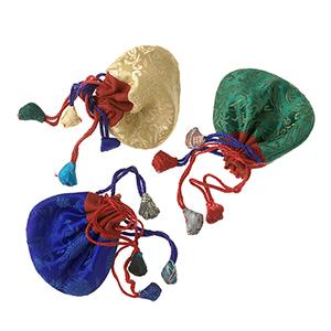 Silk Brocade Pouches