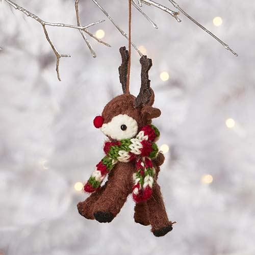 Red-Nose Reindeer Ornament