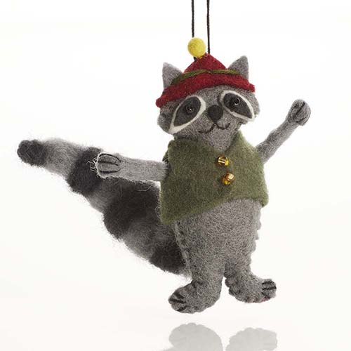 Raccoon Ornament
