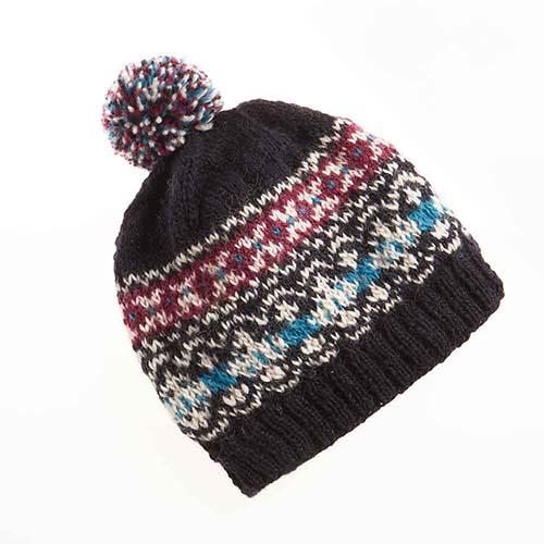 Dark Isle Pom Hat