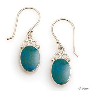 Andean River Drop Earrings