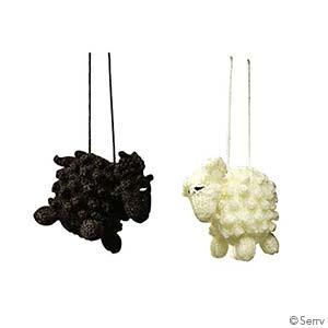 Sheep Ornament Set