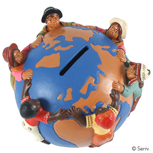 Children of The World Globe Bank