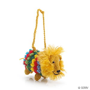 Pom Lion Ornament