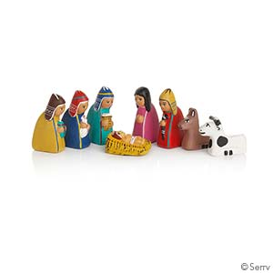 Mini Peruvian Nativity