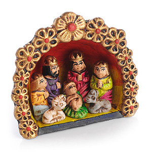 Peruvian Nativity Ornament