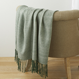 Juniper Bird's-Eye Alpaca Throw