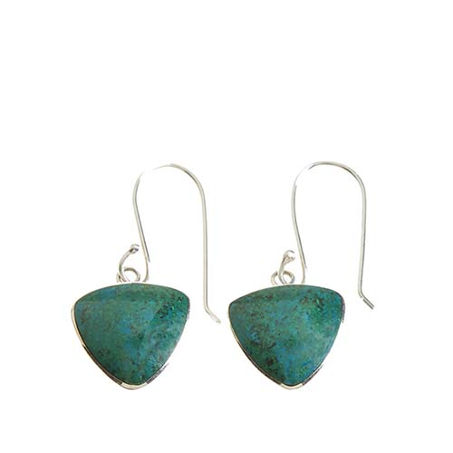 Andean River Triangle Earrings