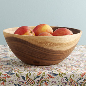Acacia Fruit Bowl