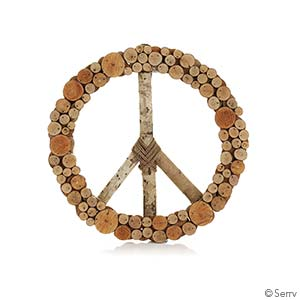 Layered Peace Wreath- Unavailable