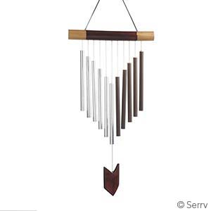 Chevron Bamboo Windchime