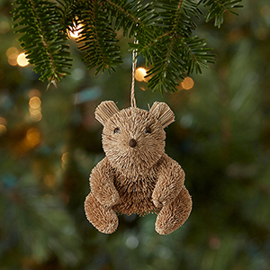 Escoba Teddy Bear Ornament