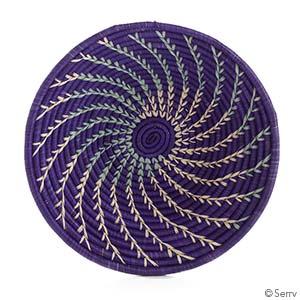 Violet Fern Basket