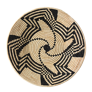 Black Swirl Basket
