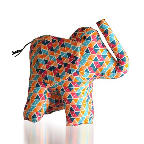 Large Kitenge Elephant