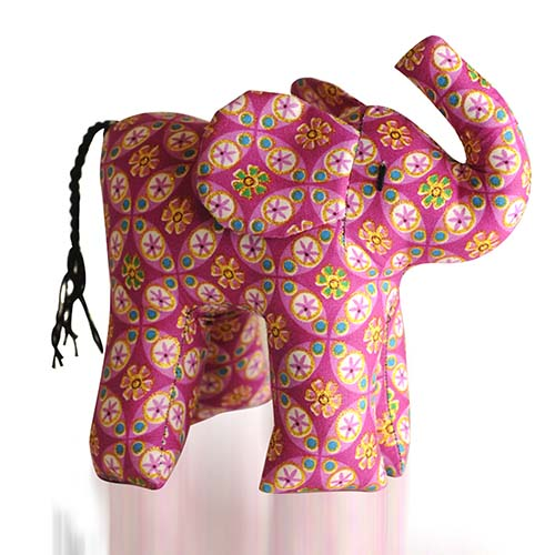 Medium Kitenge Elephant