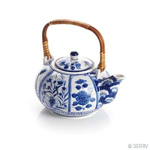 Blue Meadow Teapot