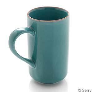 Turquoise Song Cai Latte Mug