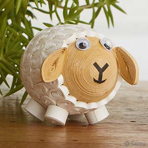 Quilled Sheep