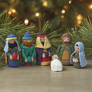 Crocheted Christmas Nativity