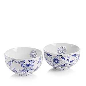 Blue Flower Small Bowl Set