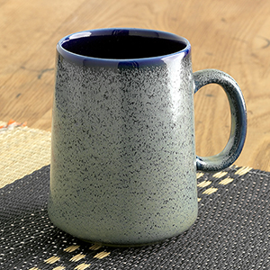 Tall Farmhouse Mug- Speckled Sage