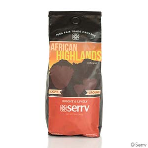 African Highlands Organic Light Coffee
