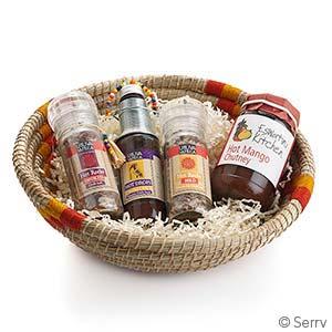 Spicy Favorites Gift Basket
