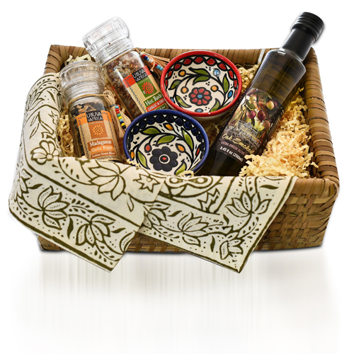 Flavor-Full Gift Basket