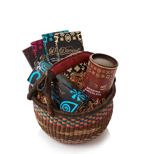 Christmas Gifts For Men South Africa: Chocolate Lovers Gift Basket, Gift Baskets: Serrv
