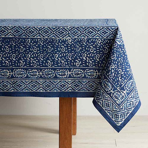 Dabu Block Print Tablecloth