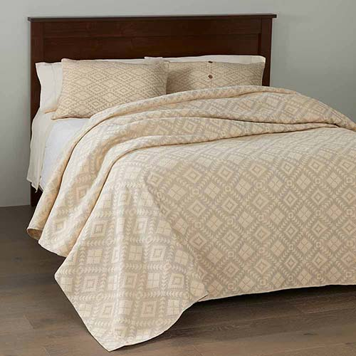 Egyptian Cotton Brocade Bedding - Dove Gray
