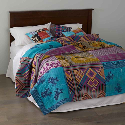 Kantha Bedding