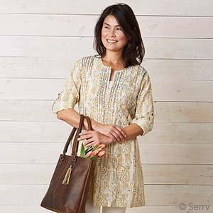 Golden Kamini Tunic
