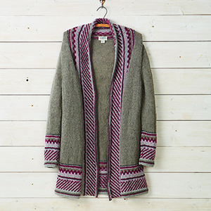 Mountain Morning Cardigan