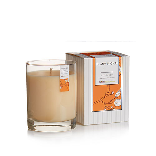 Bright Endeavors Pumpkin Chai Candles