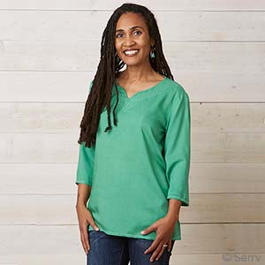 Emerald Green Reena Top