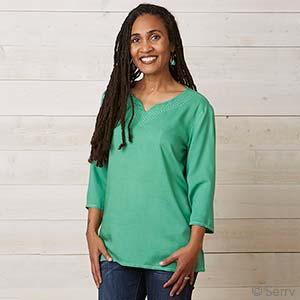 Emerald Green Reena Top