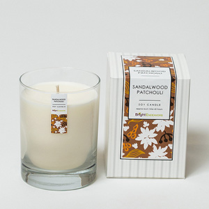 Sandalwood Patchouli Candle