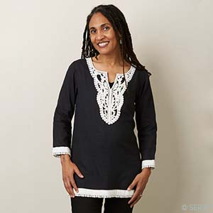 Seaside Tunic - Black