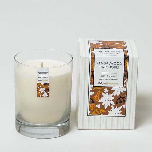Bright Endeavors Sandalwood Patchouli Candles