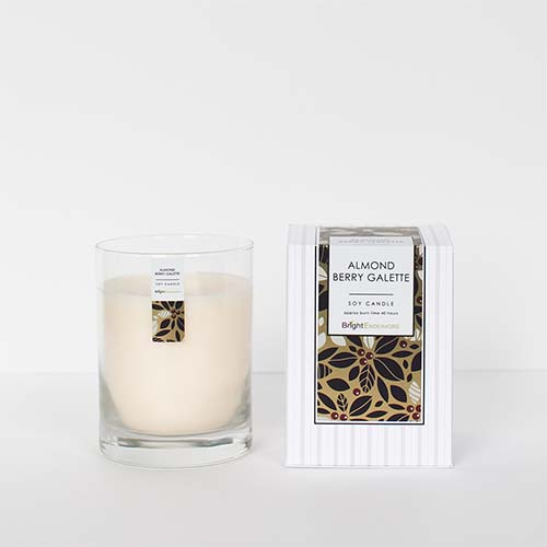 Bright Endeavors Almond Berry Galette Candles