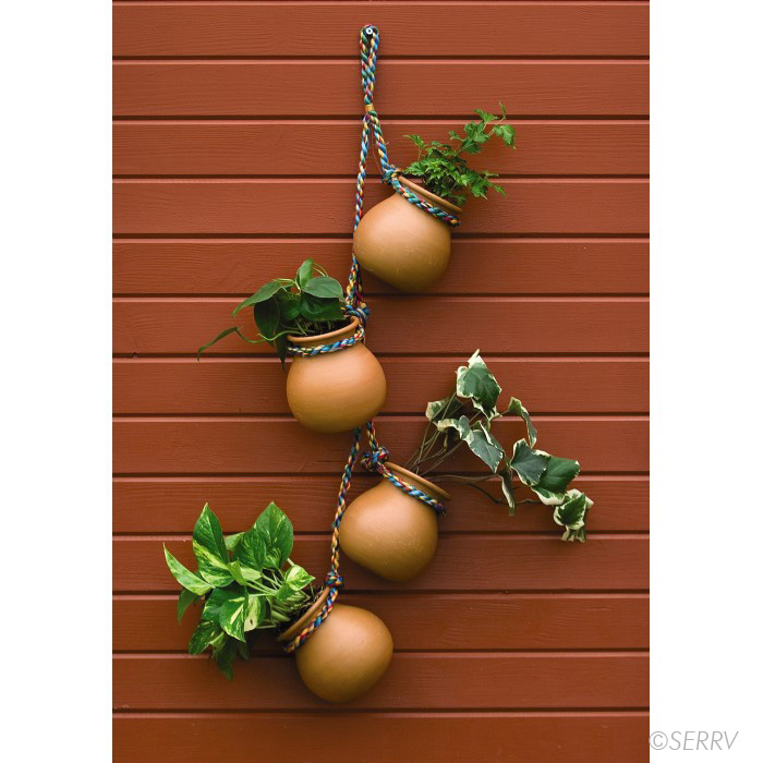 Porch Decor Hanging Herb Planters
