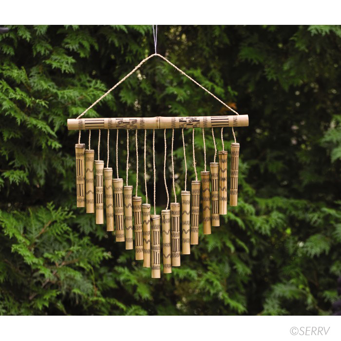 how to make bamboo wind chimes