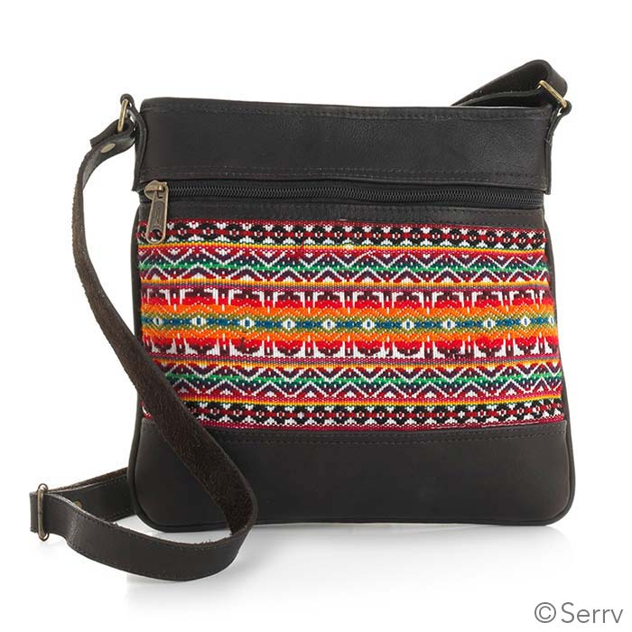 Multi Leather Crossbody Bag