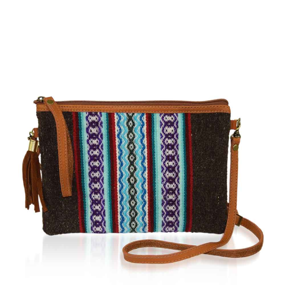 Convertible Crossbody Clutch - Cocoa