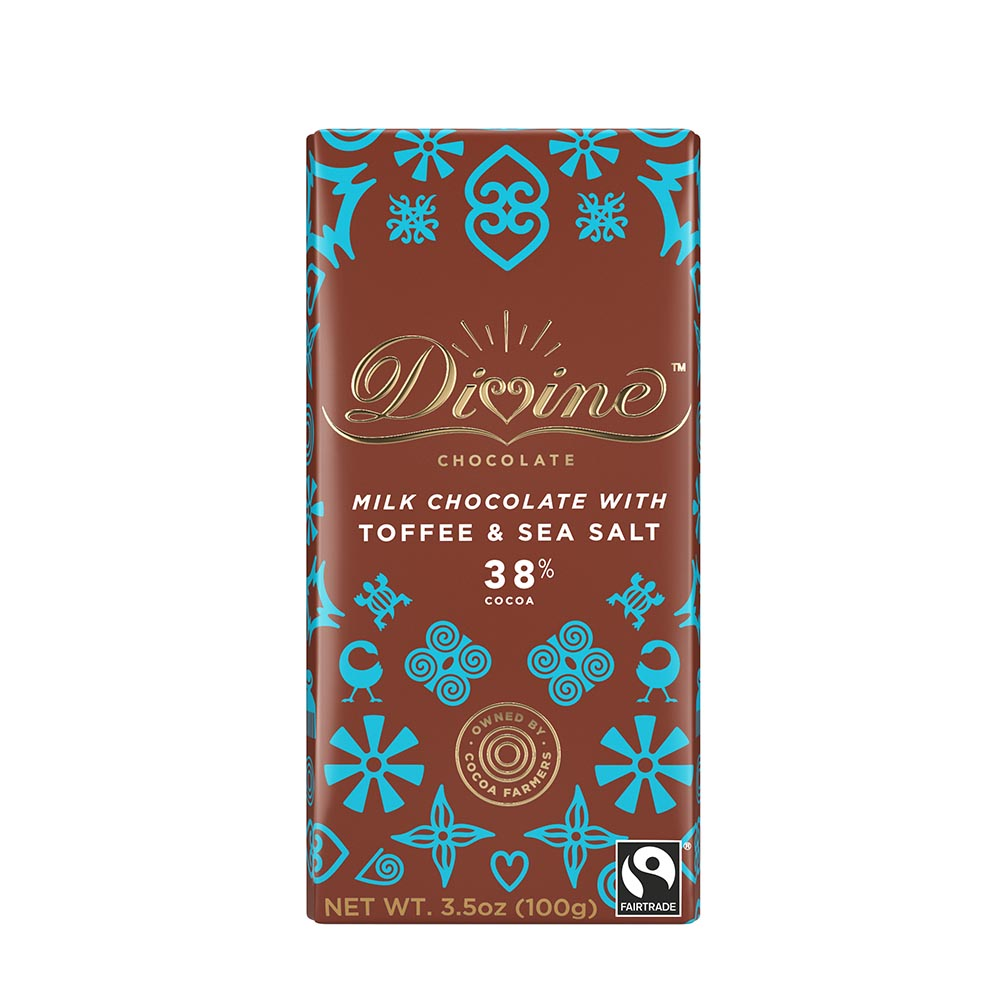 38% Milk with Toffee & Sea Salt Large Bar Case