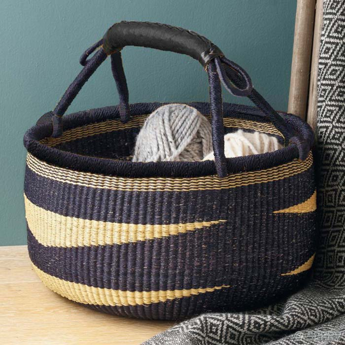 Naturally Navy Market Basket